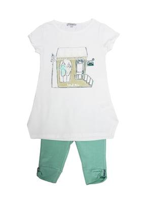 Комплект: футболка и леггинсы | 5438194