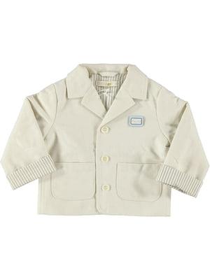 Пиджак кремового цвета | 5438609