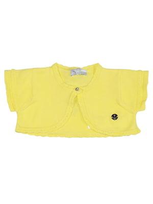Болеро желтое | 5438835