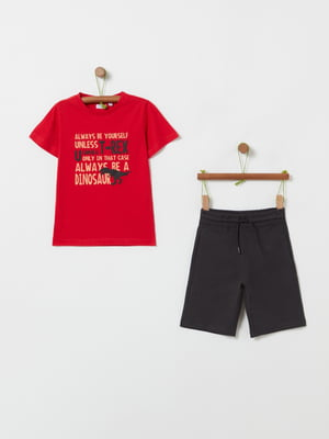 Костюм спортивный: футболка и шорты | 5436007