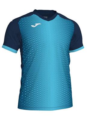Футболка бирюзово-синяя | 5440979