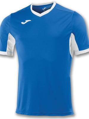 Футболка сине-белая | 5441035