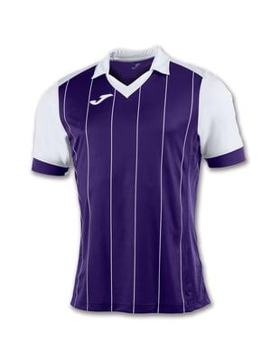 Футболка фиолетово-белая | 5441041