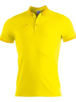 Футболка-поло желтая   5441072