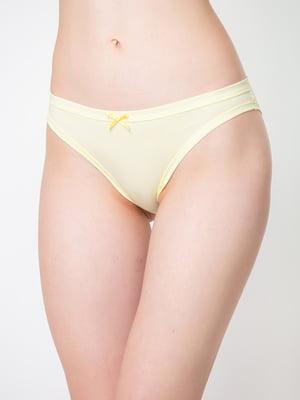 Труси-бікіні жовті | 5440584