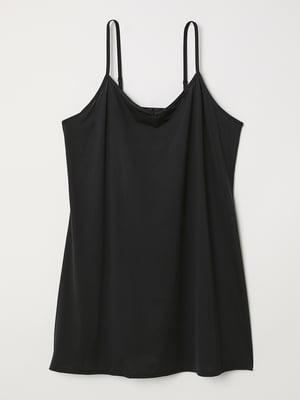 Платье нижнее черное | 5428634