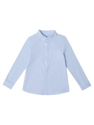 Рубашка голубая | 5435580