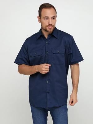 Рубашка синяя | 5443808
