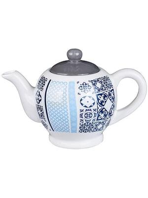 Чайник заварювальний «Синя мозаїка» (730 мл) | 5443249