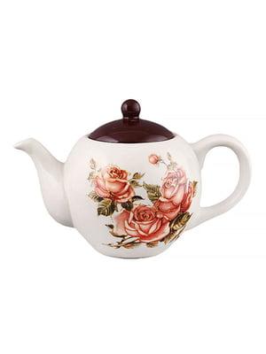 Чайник заварювальний «Корейська троянда» (950 мл) | 5443251