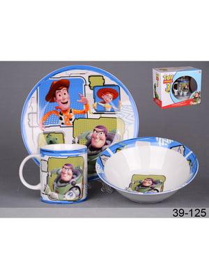 Набір посуду дитячої «Історія іграшок» (3 предмета) | 5443297