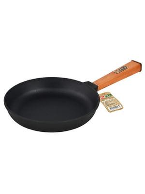 Сковорода чавунна з ручкою «Оптіма» (200х40 мм) | 5443370