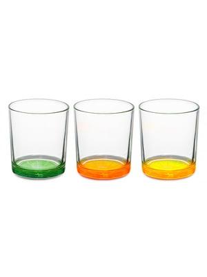 Набір склянок «Цитрус» (3 шт., 220 мл)   5443410