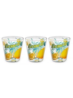 Набір склянок «Лимон» (3 шт., 250 мл)   5443411