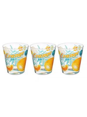 Набір склянок «Апельсин» (3 шт., 250 мл)   5443413