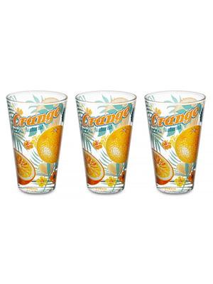 Набір склянок «Апельсин» (3 шт., 310 мл)   5443414