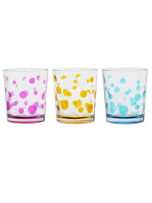 Набір склянок «Горох» (3 шт., 360 мл)   5443415
