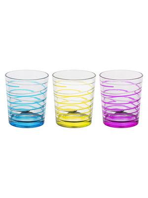 Набір склянок «Смужка» (3 шт., 360 мл) | 5443416