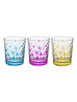 Набір склянок «Ромб» (3 шт., 360 мл)   5443417