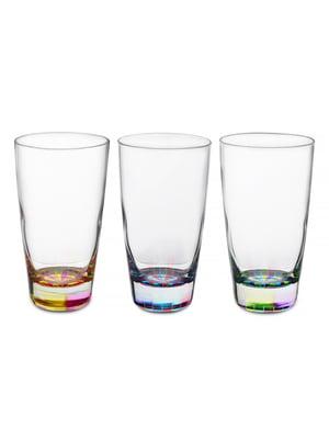 Набір склянок «Веселка» (3 шт., 400 мл)   5443419