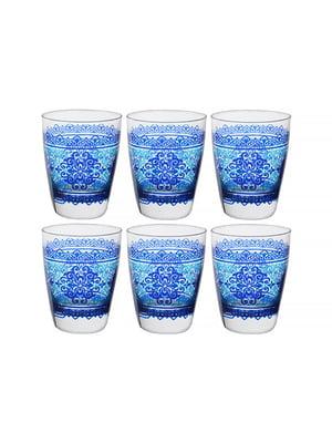 Набір склянок «Шарм блю» (6 шт., 300 мл)   5443420