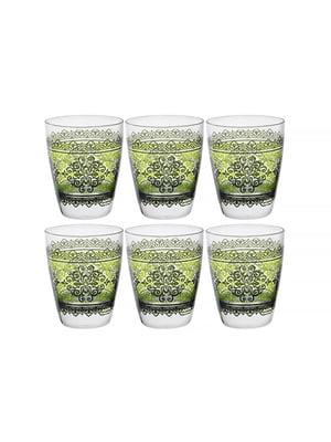 Набір склянок «Шарм верде» (6 шт., 300 мл)   5443421