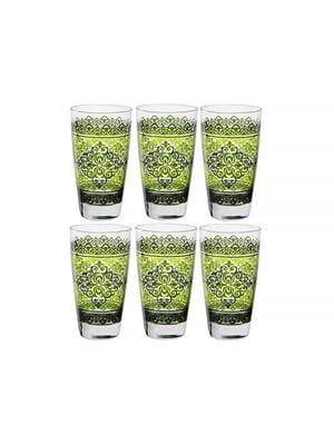 Набір склянок «Шарм верде» (6 шт., 400 мл)   5443422