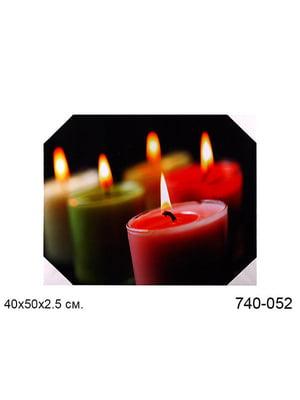 Панно декоративне з підсвічуванням (40x50x3 см) | 5443442