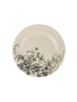 Тарелка «Винтажные цветы» (21 см) | 5443475