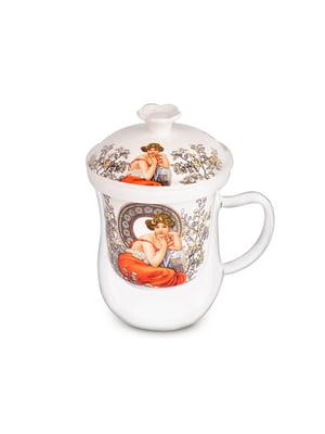 Чашка заварочна колекційна «А. Муха» (400 мл) | 5443538