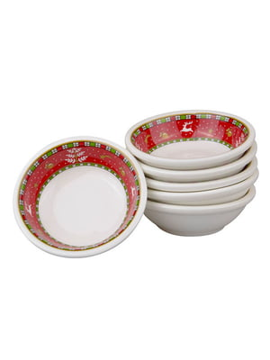 Набор салатников «Рождественская коллекция» (6 предметов, 7 см) | 5443608