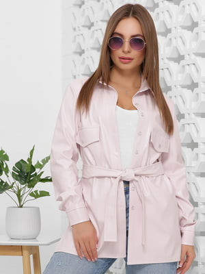 Рубашка нежно-розового цвета | 5444119