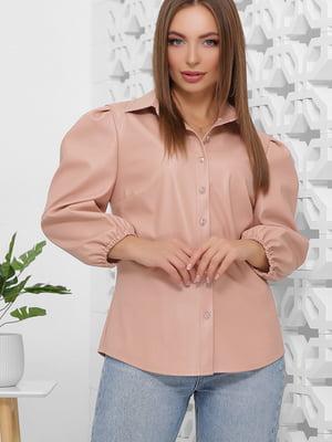 Рубашка пудрового цвета | 5444130