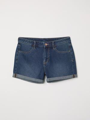 Шорты джинсовые синие | 5441521