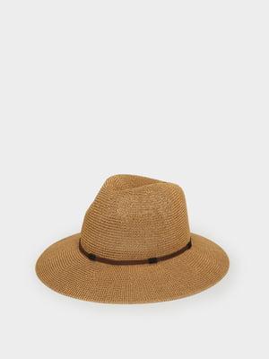 Шляпа бежевая | 5442299