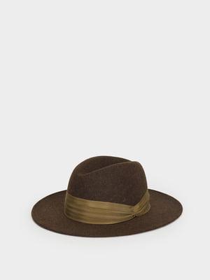 Шляпа коричнево-зеленая | 5442077