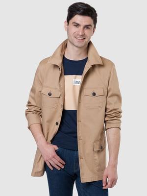 Куртка бежевая | 5444455