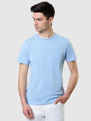 Футболка блакитна | 5444477