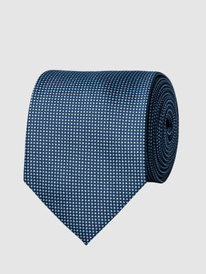 Краватка синя в цяточку | 5444495