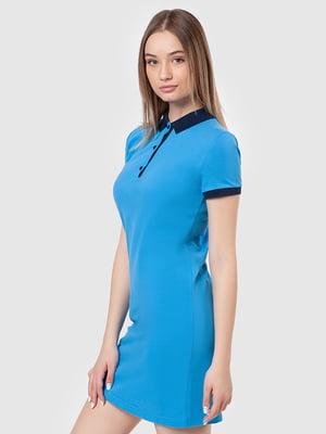Платье голубое | 5444563