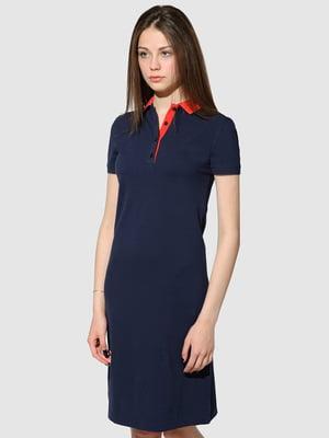 Платье синее | 5444565