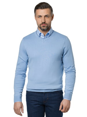 Пуловер голубой   5309769
