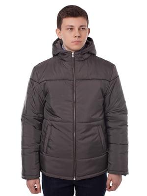 Куртка серо-коричневого цвета | 5365997