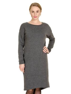 Платье цвета антрацит | 5366016