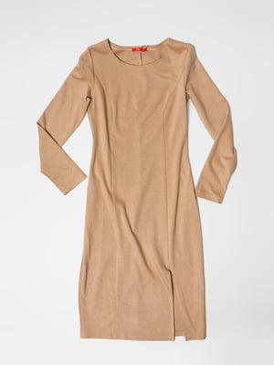 Платье бежевое | 5366026