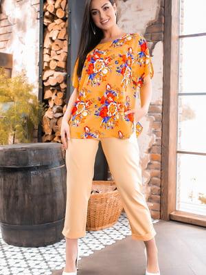 Костюм: блуза и брюки | 5445245