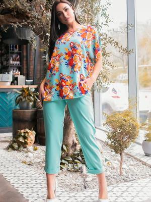 Костюм: блуза і штани | 5445246