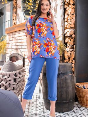 Костюм: блуза і штани | 5445247