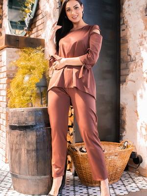 Костюм: блуза і штани | 5445265