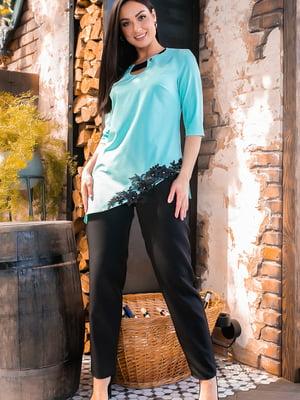 Костюм: блуза и брюки | 5445270